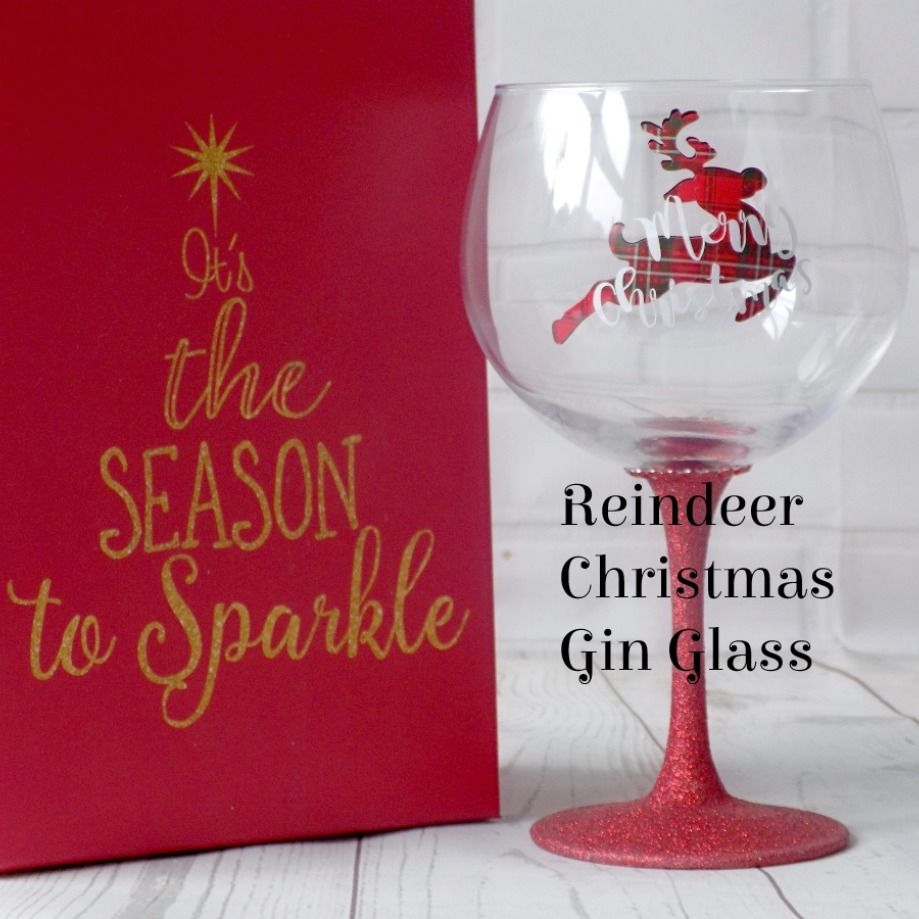 Glitter Gin Glass Gin Gifts For Christmas Gin Gifts Glass Gin Lovers