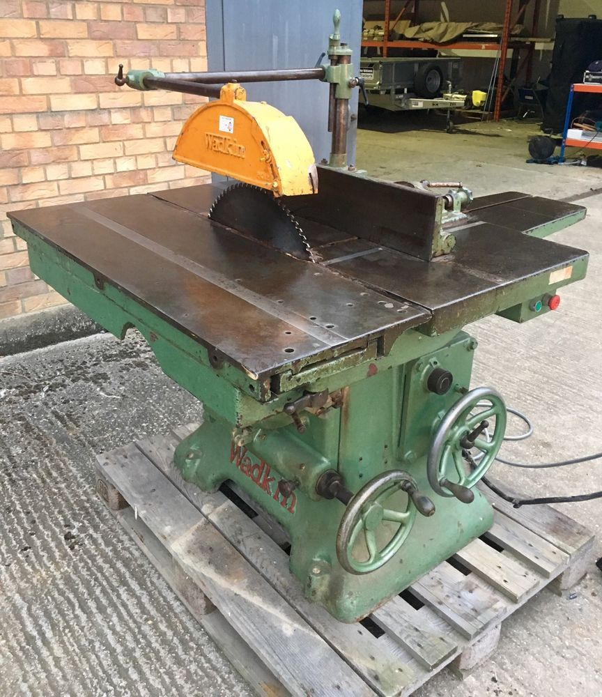 Wadkin Table Saw For Sale