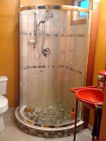 Is A 36 Half Round Shower Too Cramped