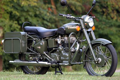 2008 Royal Enfield Bullet 500 Es Favorite Motorcycles Scooters