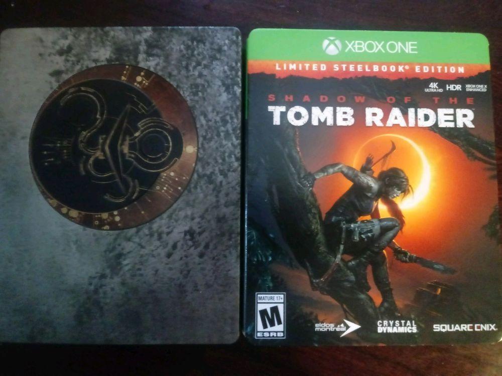 Shadow Of The Tomb Raider Steelbook Edition Xbox One Tomb Raider Tomb Shadow