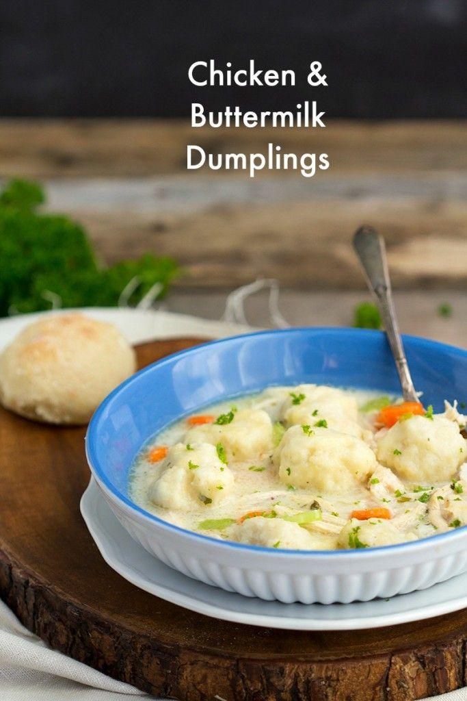 Chicken And Buttermilk Dumplings Favorite Casserole Recipes Chicken Recipes Chicken And Dumplings
