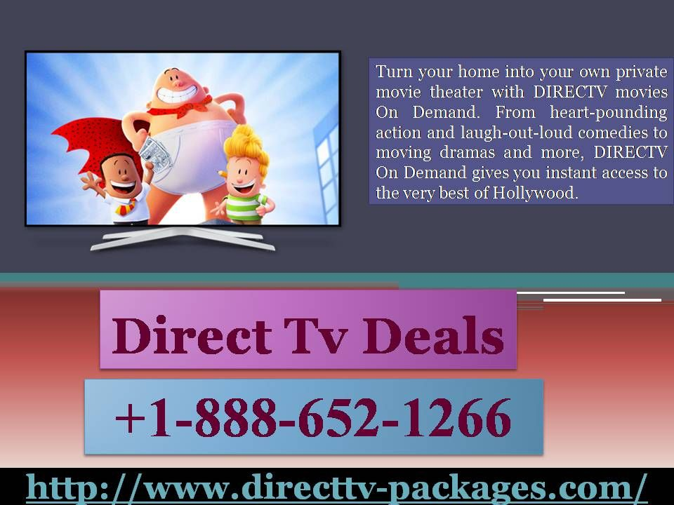 Direct Tv Packages 18886521266 the Best Movie