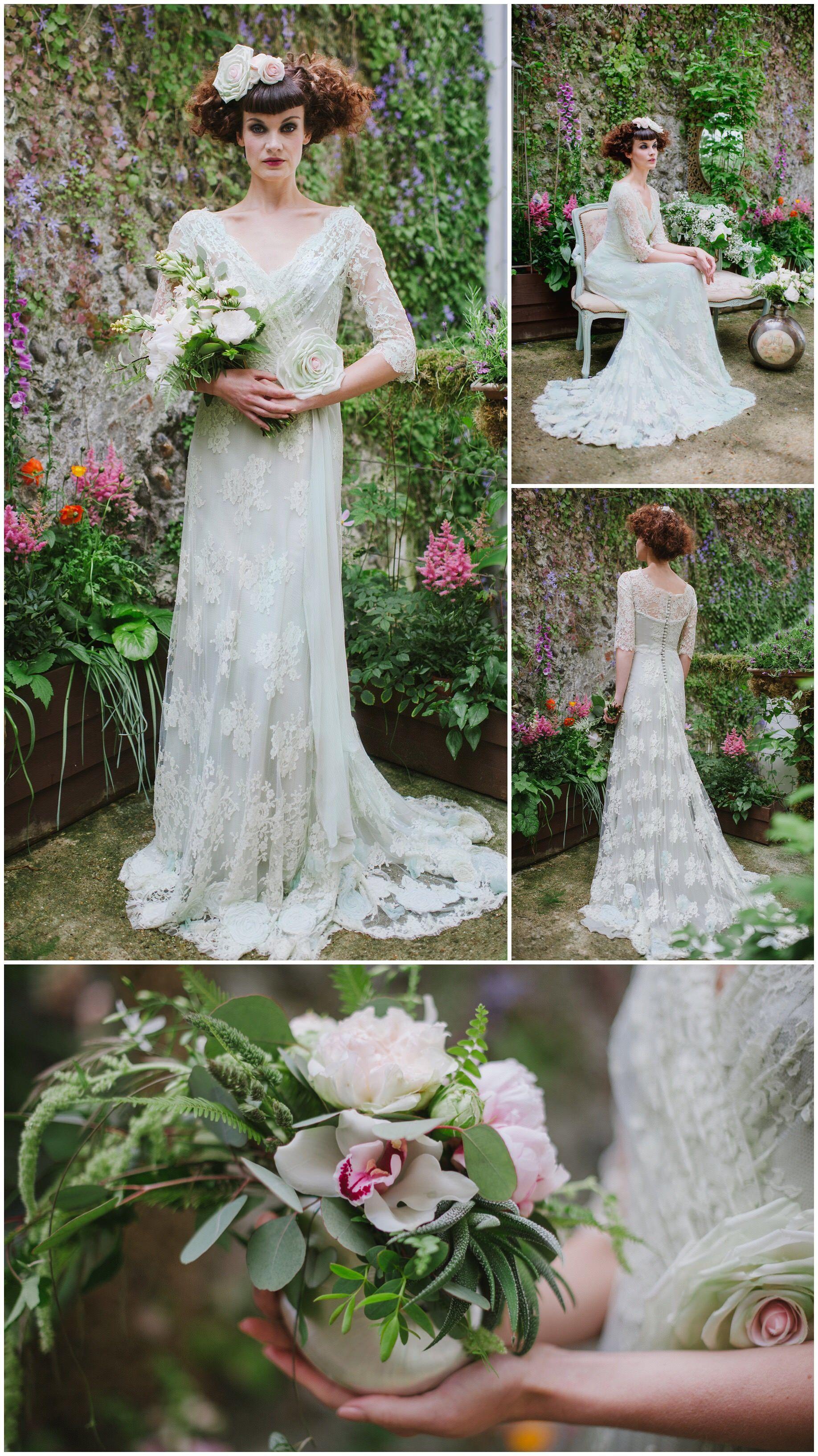 Vintage Pale Green Bridesmaid Dresses