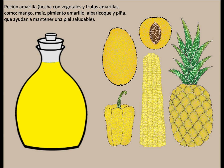 Frutas y verduras para una buena alimentacion. Cuento infantil ...