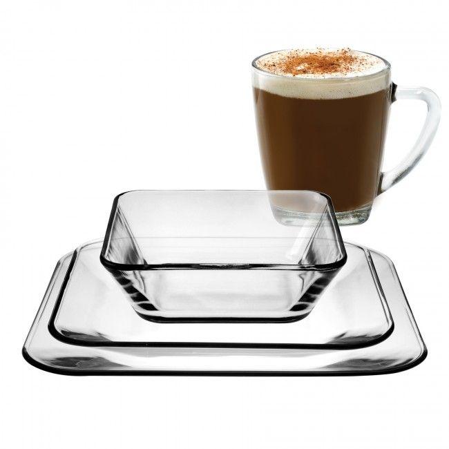 Anchor Hocking Rio Clear Glass Dinnerware  sc 1 st  Pinterest & Anchor Hocking Rio Clear Glass Dinnerware | kitchen | Pinterest ...