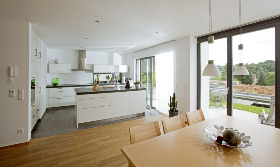 Wohnzimmer Küche Offen Ideen in 10  Moderne küche, Küche mit