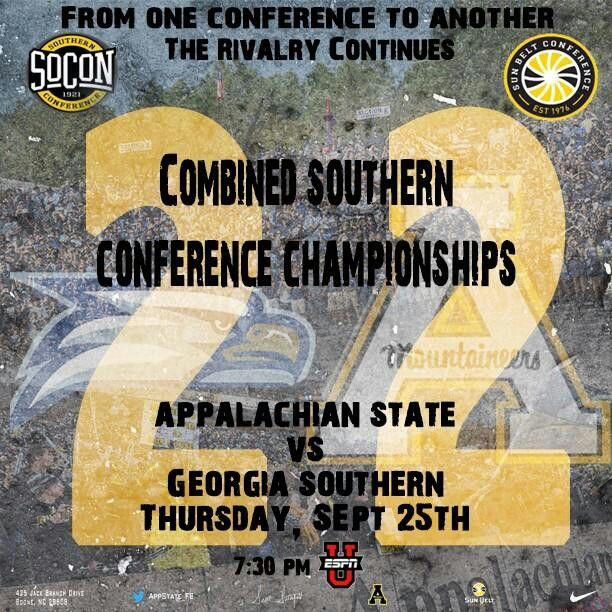 ASU/Ga Southern in 2019 App state, Academic calendar