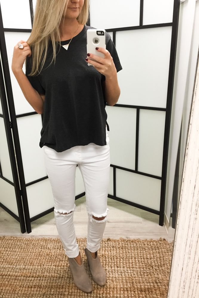 840a1732f59 AMAZING LACE OOTD White Jeans Outfit