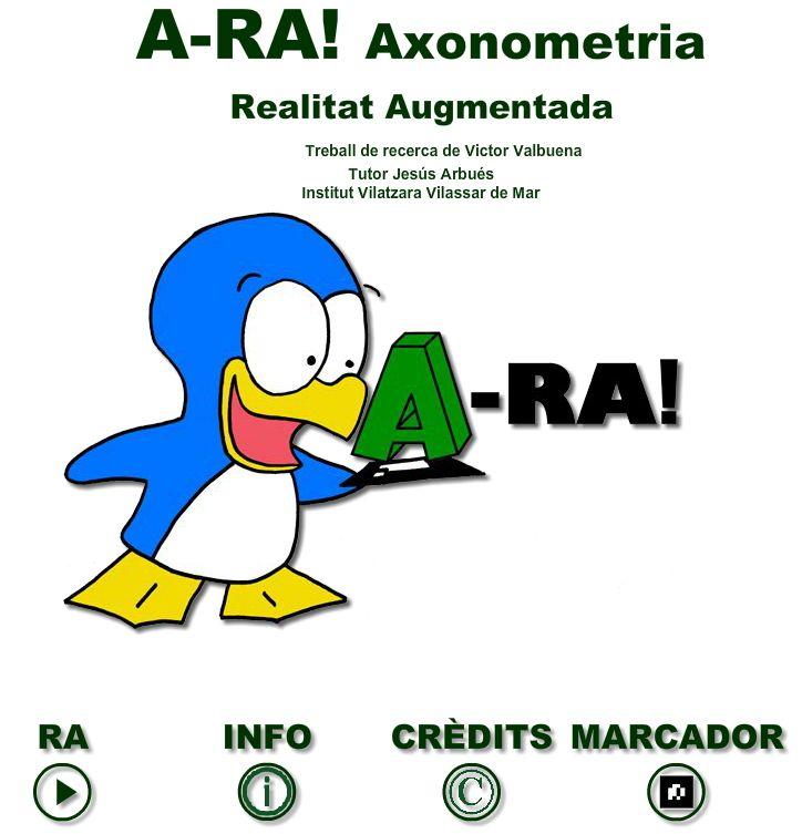 REALIDAD AUMENTADA - A-RA! Axonometría.