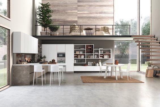 2019的Consigli per arredare la cucina (e il living). Prima di tutto ...