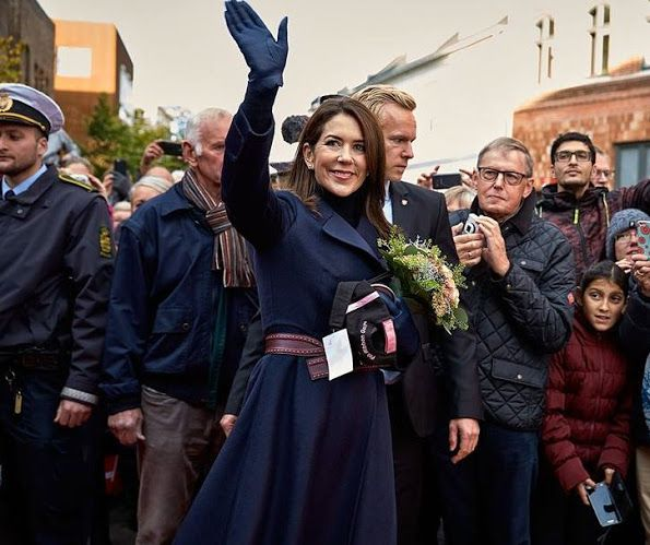 The Crown Prince Couple visits Holstebro City Hall