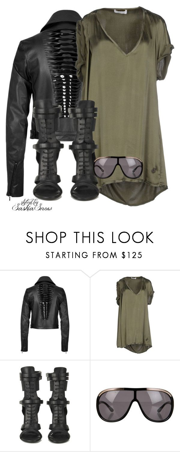 """Unbenannt #2051"" by saskiasnow ❤ liked on Polyvore featuring Dion Lee, Pierre Balmain, BOSS Black and Tom Ford"