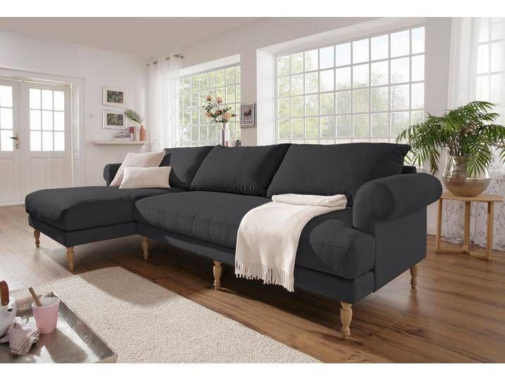 Home Affaire Ecksofa Lex Gedrechselte Holzfusse 3 Qualitaten Lose Home Decor Furniture Couch