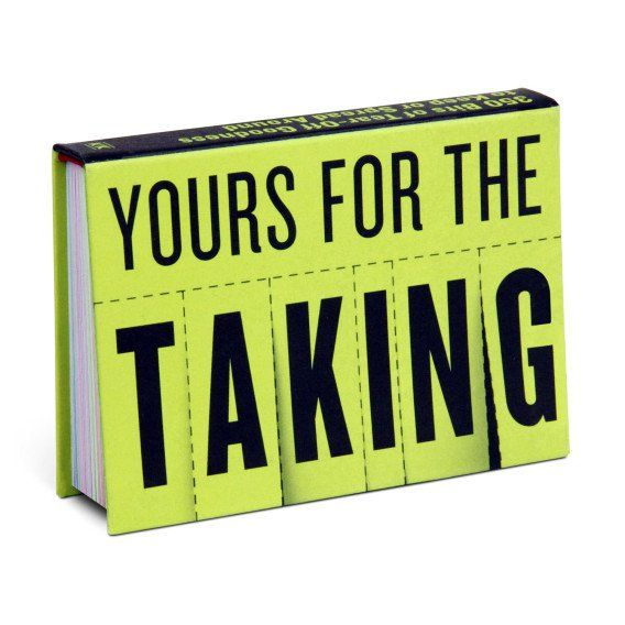 knock knock yours for the taking are funny gift books mimicking the