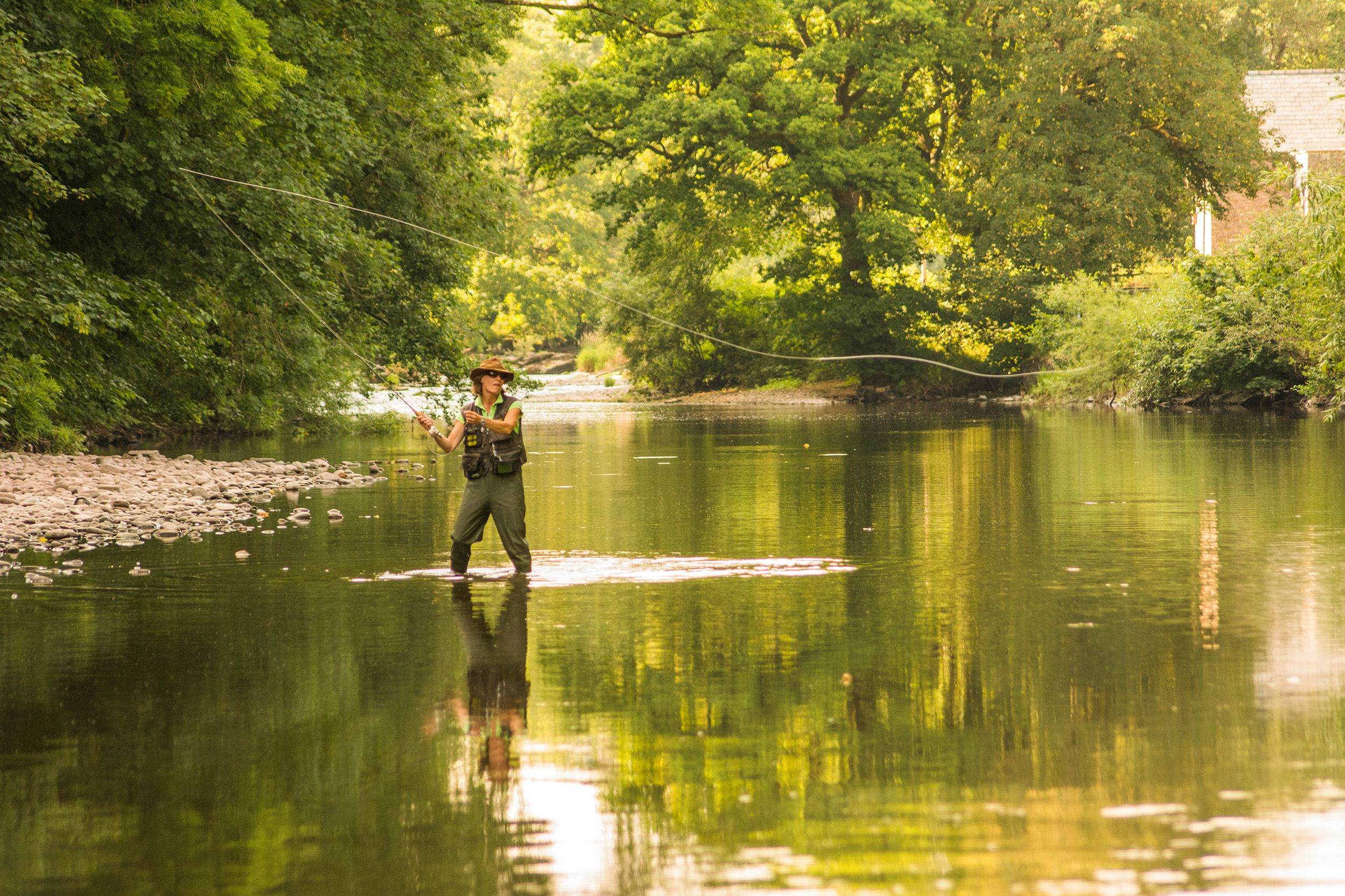 Fishing At Peterstone Court Hotel Spa Brecon