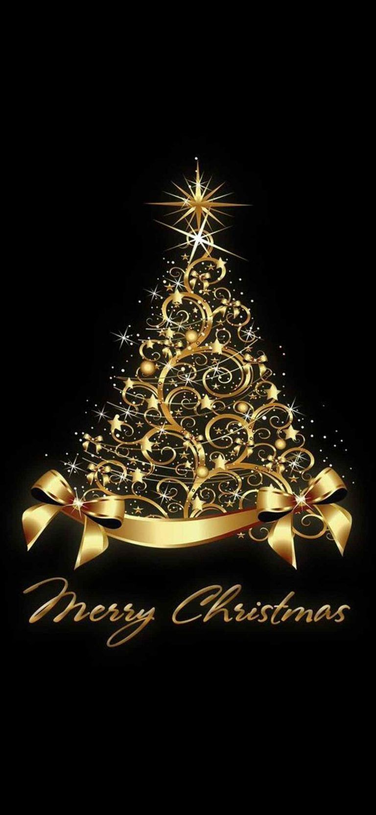 Iphone X Beautiful Wallpaper 1125 2436 Christmas Background