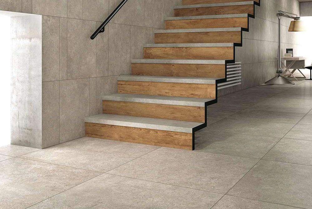 Betoon Look Vloer : Mirage mashup block concrete look tile available at ceramo