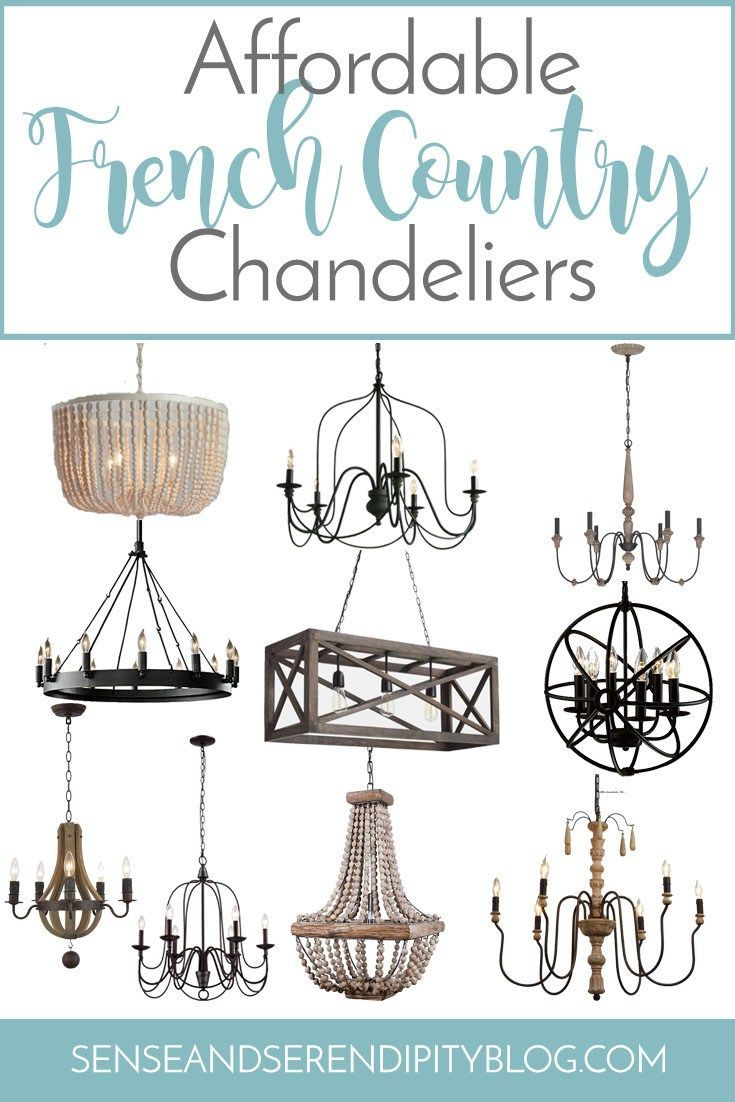 Photo of Affordable French Country Chandeliers | Sense & Serendipity