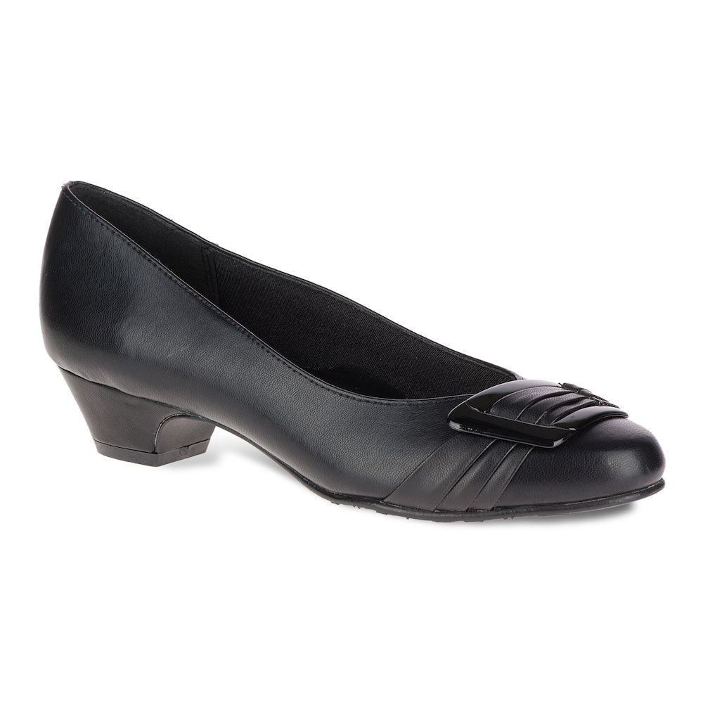 Soft Style By Hush Puppies Pleats Be With You Women S High Heels Size Medium 10 Black Womens High Heels Hush Puppies High Heels