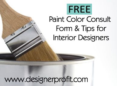 Free paint color consultation form tips for interior - Online interior design consulting services ...