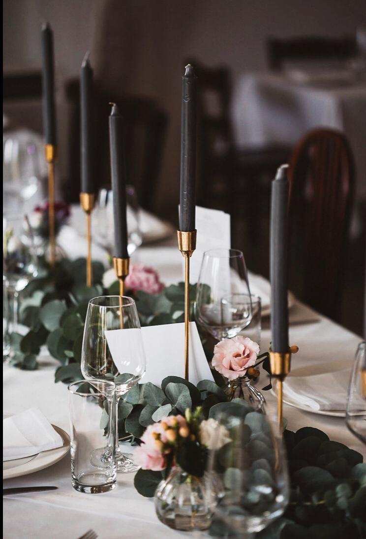 TISCHDEKO HOCHZEIT // WEDDING TABLE DECO #wildflowers
