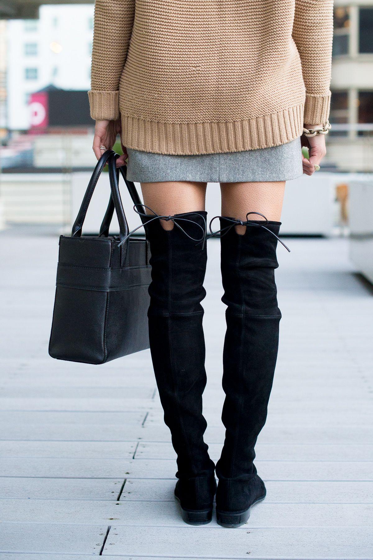 db92d4c4ab0bf Thigh High | Fox & She Style | Fall outfits, Boots, Fashion