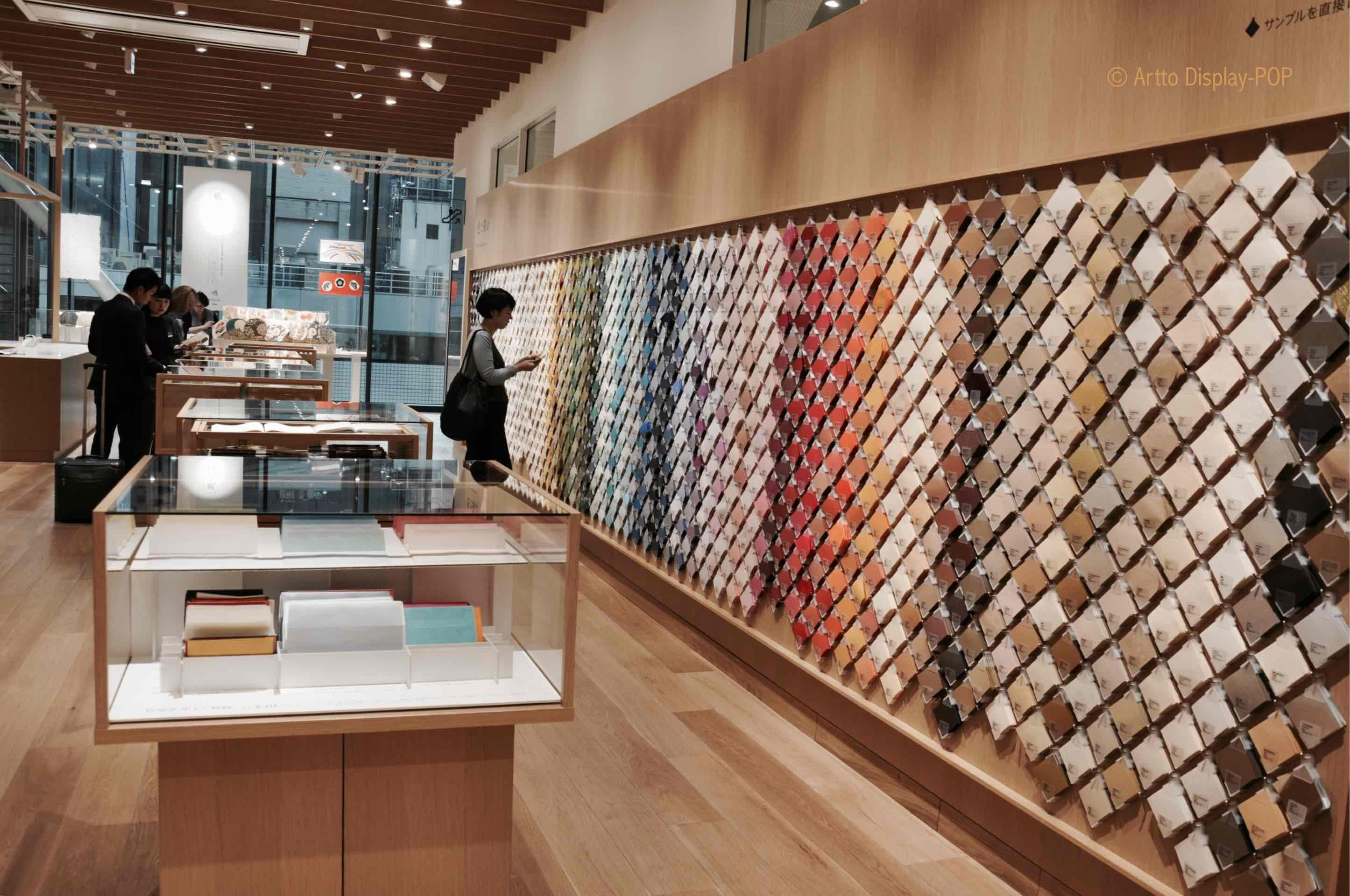 Paper Shop Itoya Stationery Store Paper Exhibition Centre Point Of