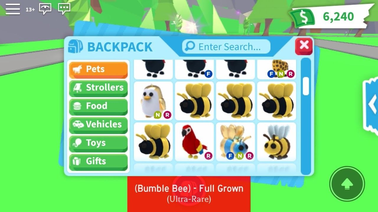 Roblox Adopt Me Inventory How Will Roblox Adopt Me Inventory Be In