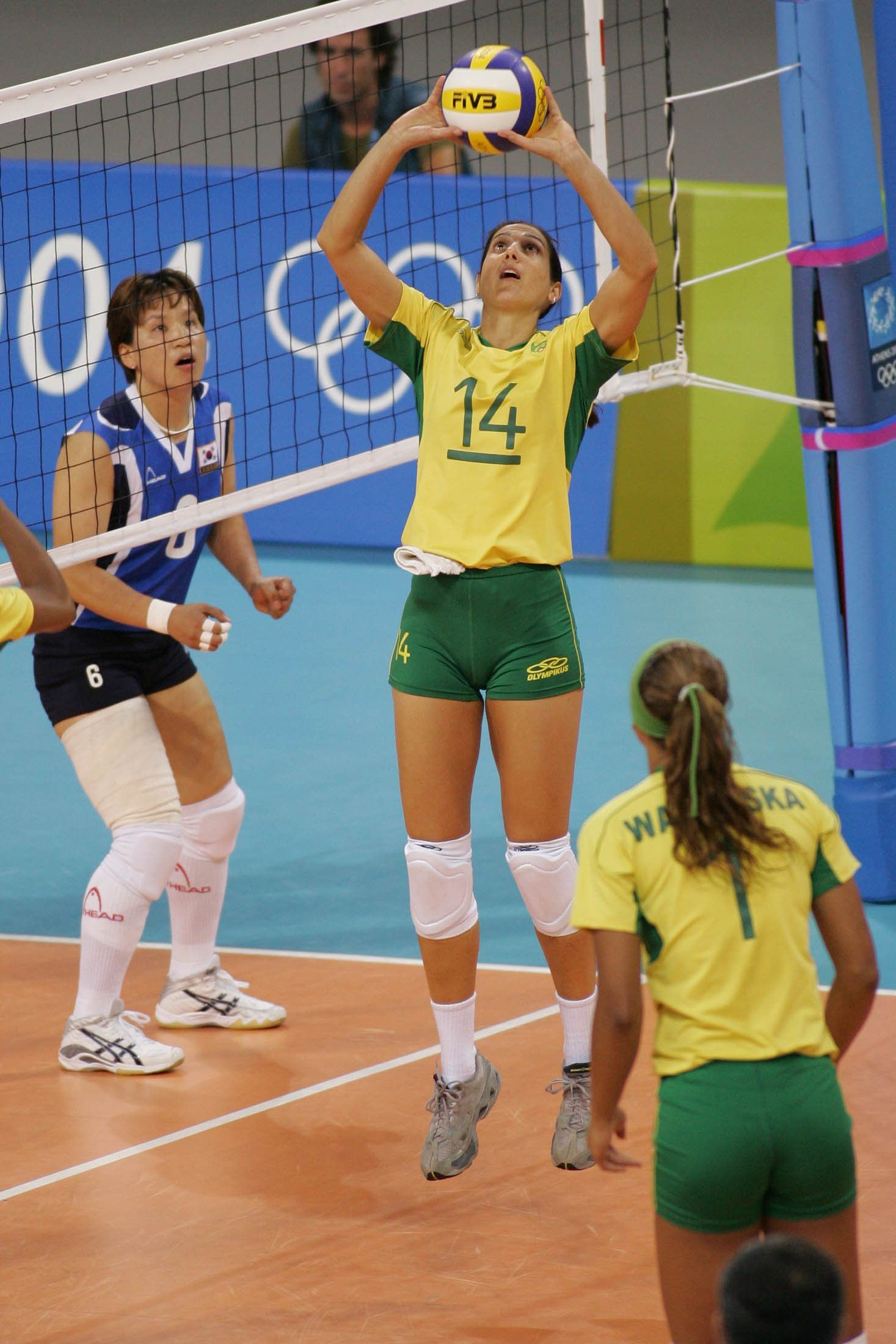 Pin On Female Volleyball Players