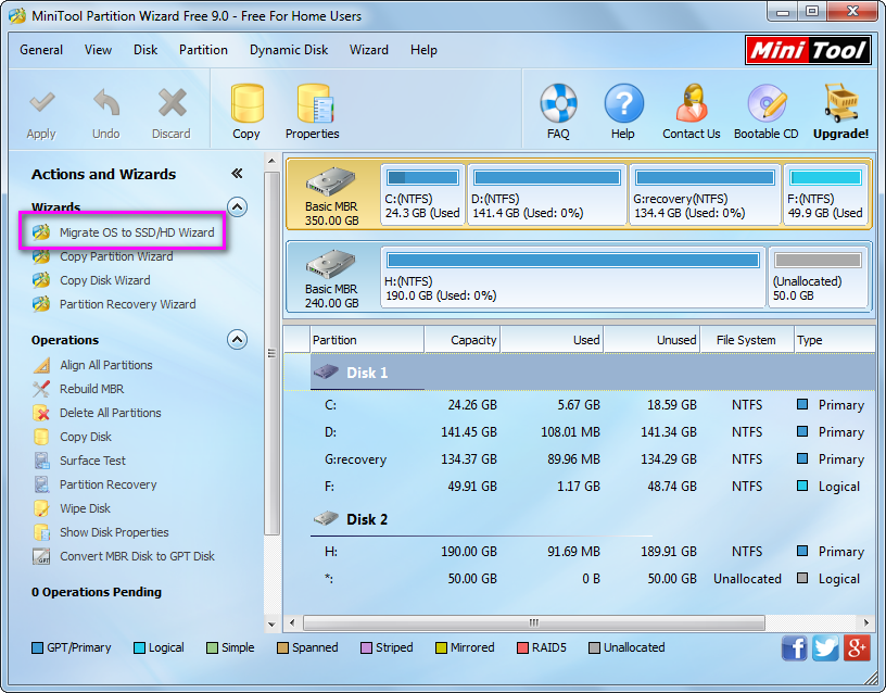 migrate-os-to-ssd-hd   partitioning hard disk in Windows   System