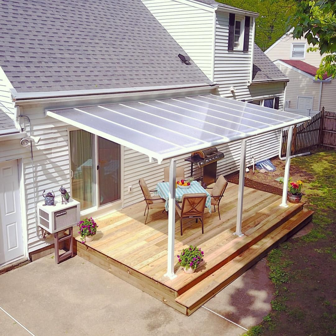 26 Likes 3 Comments Palram Applications Palramapps On Instagram Cozy Tranquil And Stylish This Lovel Backyard Patio Designs Backyard Deck Patio Shade