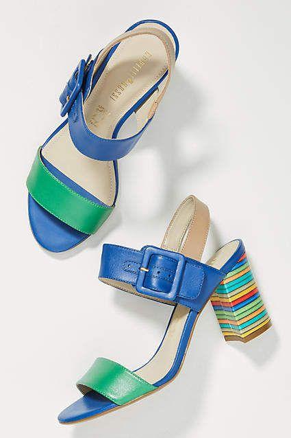 60232a96765e Capelli Rossi Striped Heels