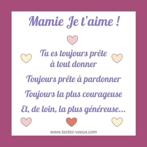 Bon Anniversaire Grand Mère Souhaits Bonne Fête Mamie