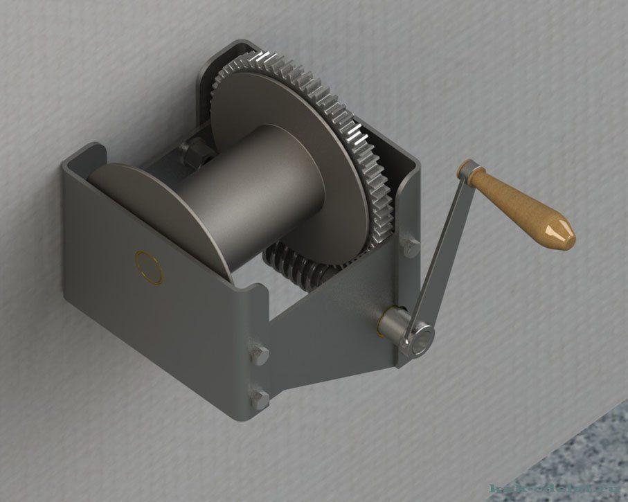 Ручная лебедка для якоря на лодку пвх) Форум Моторка