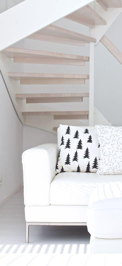 Via Lisbet E   Fine Little Day Gran Pillow   Ikea Sofa   White