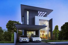 Modern Tropical House Plans & Contemporary Tropical, Modern Style in ...