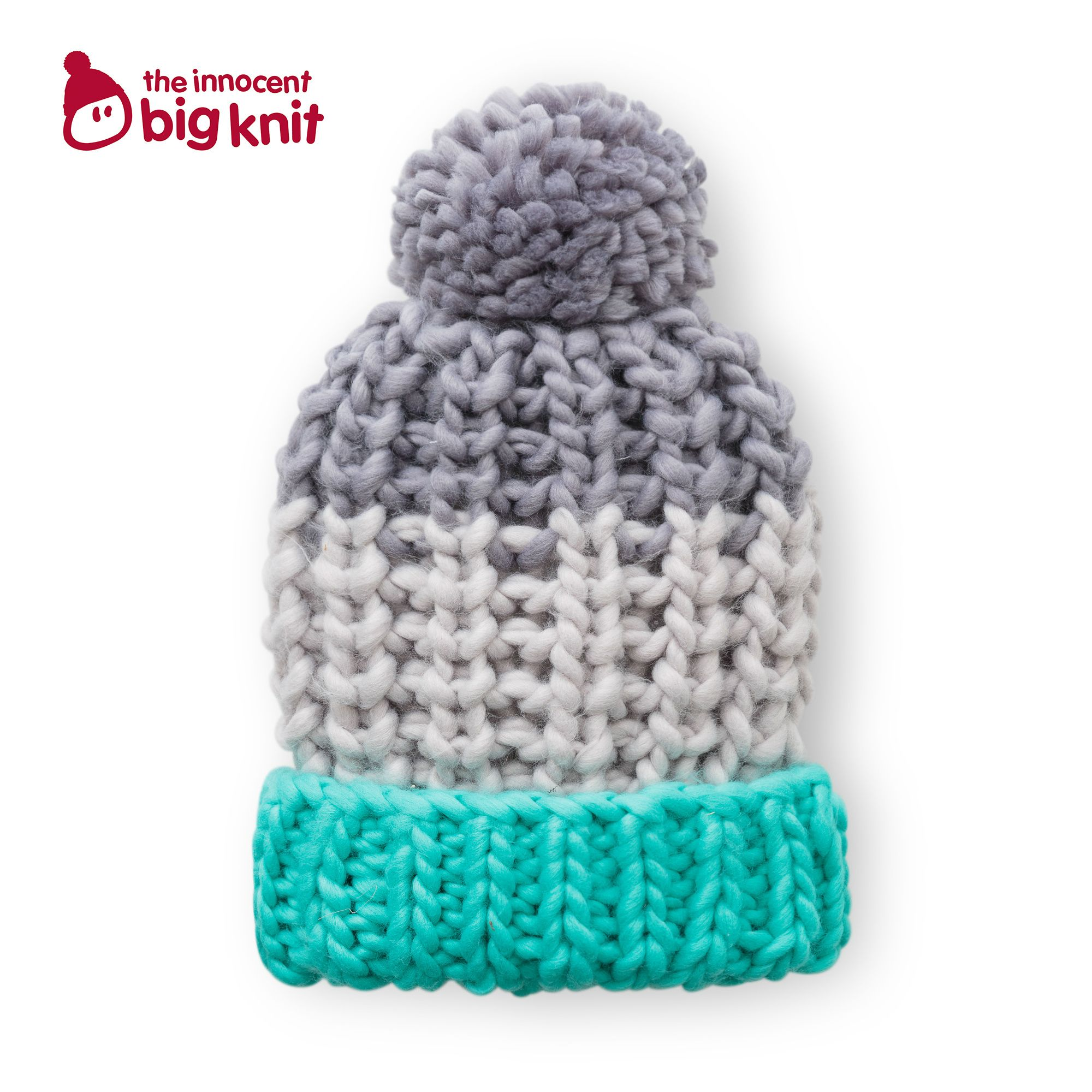 Buy the Adult\'s Grey Hand-Knitted Hat at Oliver Bonas & support the ...