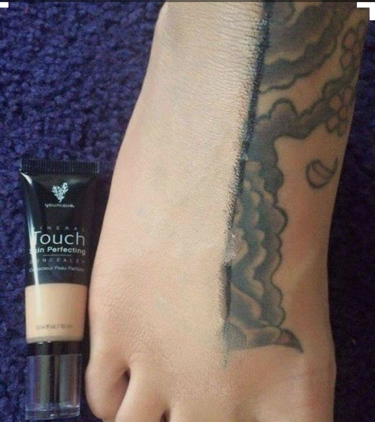 Touch Mineral Skin Perfecting Concealer Cover the flaws