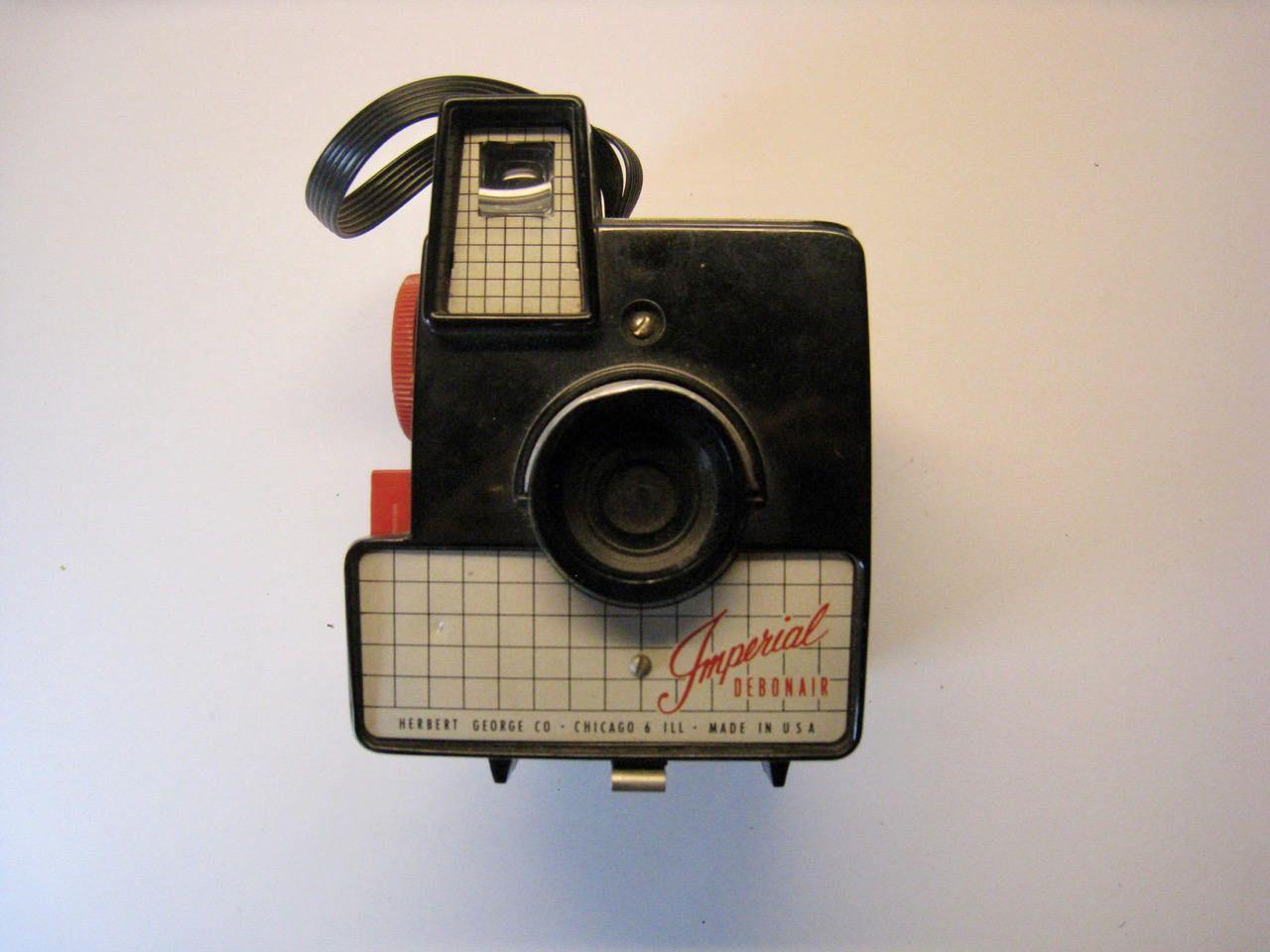 Vintage camera. Imperial Debonair camera from Herbert George Co. Chicago. by PickleladyVintage on Etsy
