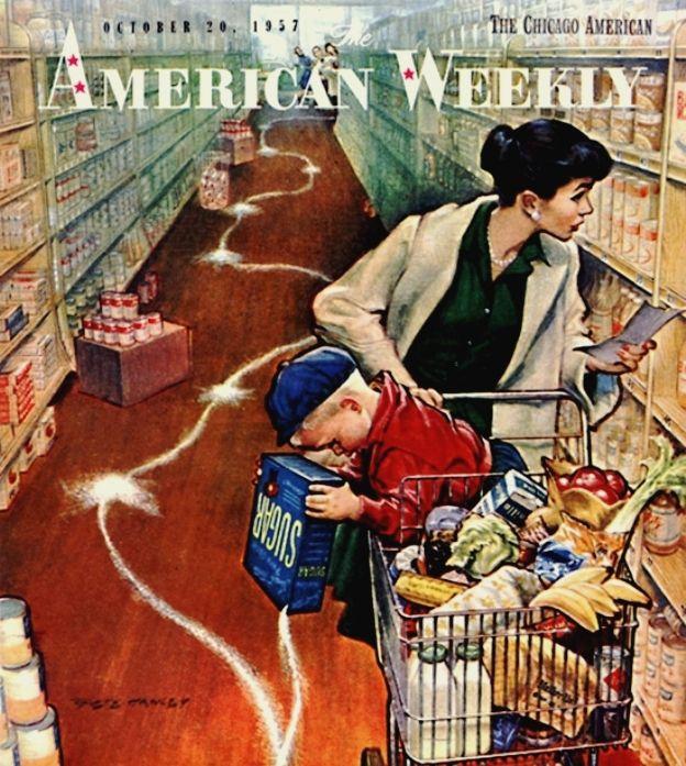 Hawley, Pete (b,1916) Sugar Trail 'American Weekly' mag