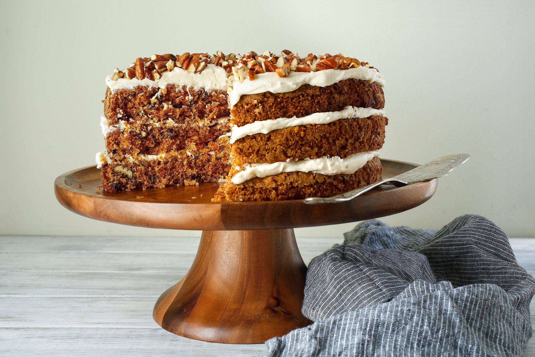 Dorie Greenspan\'s Carrot Cake | Rezept | Backen
