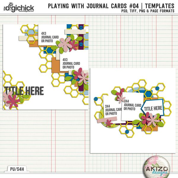 Playing With Journal Cards #04 | Templates