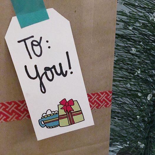 Free printable holiday gift tags from Mandy Ford Art @ Illustration! #printables #holidayprintable  #christmas #giftgiving