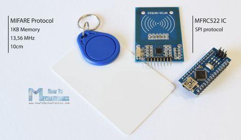 RFID and Arduino Tutorial | Arduino | Arduino, Rfid arduino