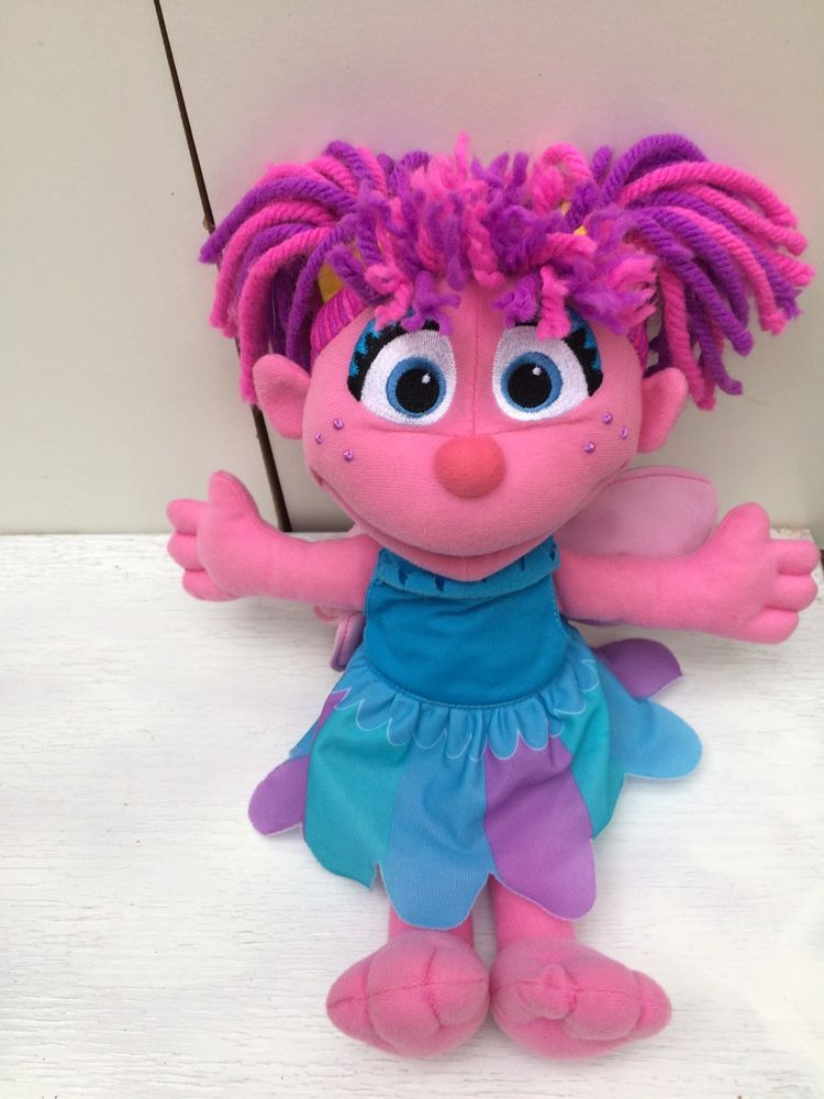 Sesame Street Hasbro 13 Abby Cadabby Plush Doll Stuffed Toy