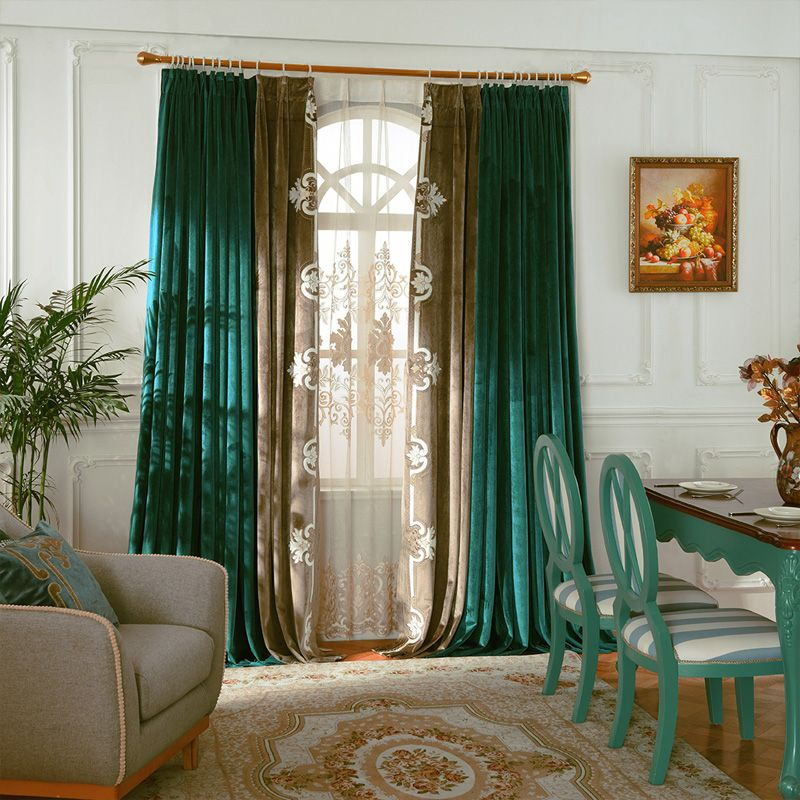 Image Result For Green Curtains Green Curtains Living Room Green Curtains Bedroom Blue Curtains Living