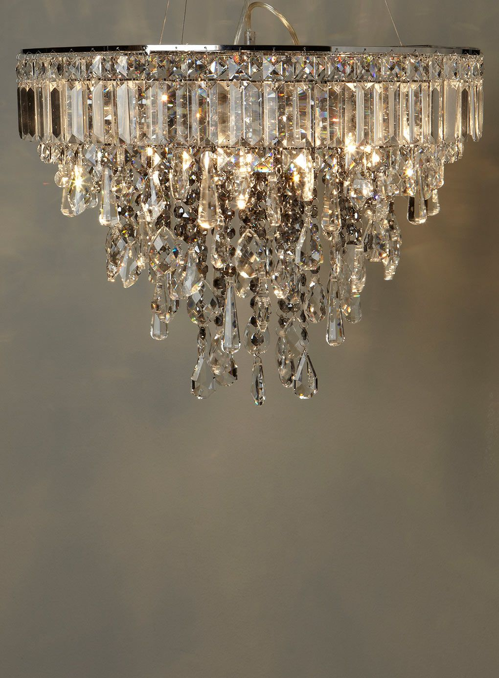 Bathroom Chandeliers Bhs smoke gabriella pendant - on a budget chic, cannot believe from