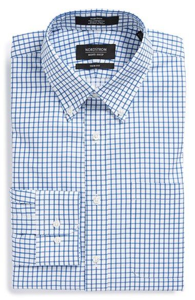 Nordstrom Trim Fit Smartcare™ Check Dress Shirt (Online Only)