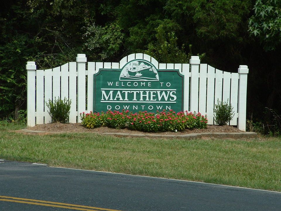Matthews, North Carolina - we loved this little town! | Living in north  carolina, Favorite places, Matthews